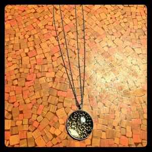 Baked Beads Pendant Necklace